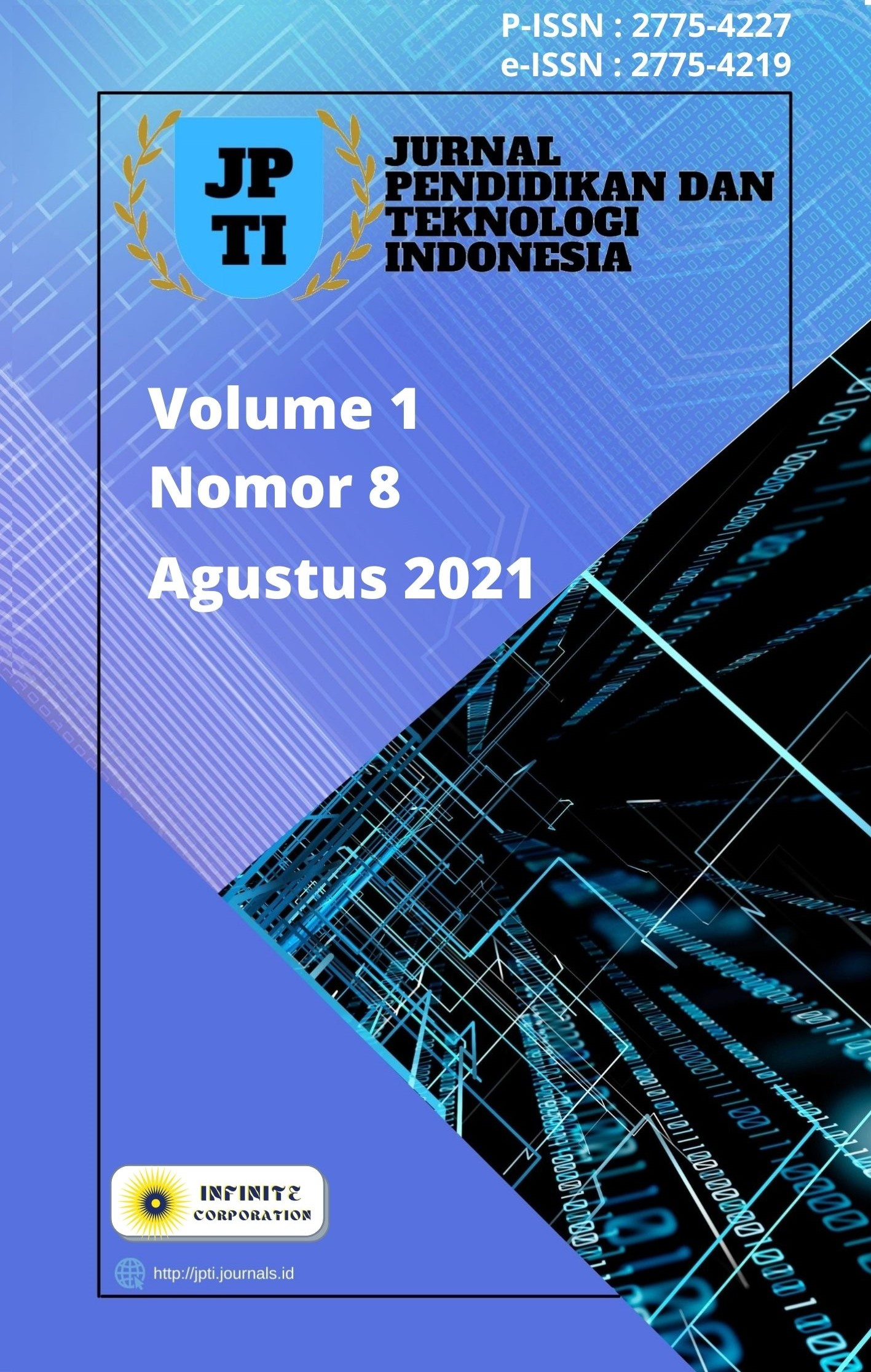 Lihat Vol 1 No 8 (2021): JPTI - Agustus 2021